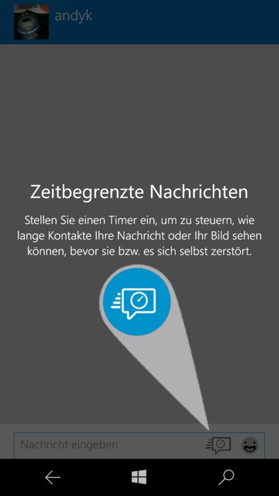 BlackBerry Messenger (BBM) für WindowsPhone | Screenshot: Redaktion