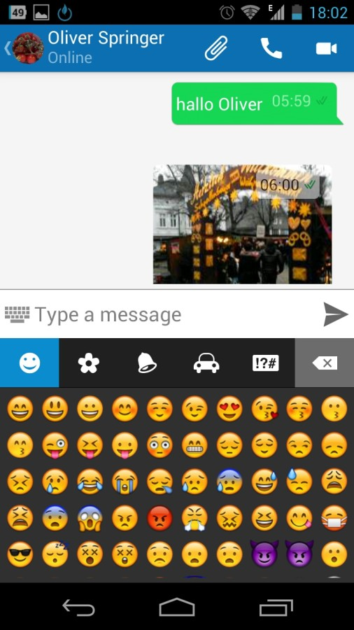 Screenshot: Loskasher Messenger | Bild: Redaktion