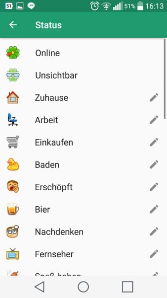 ICQ Android-App   Screenshot: Redaktion
