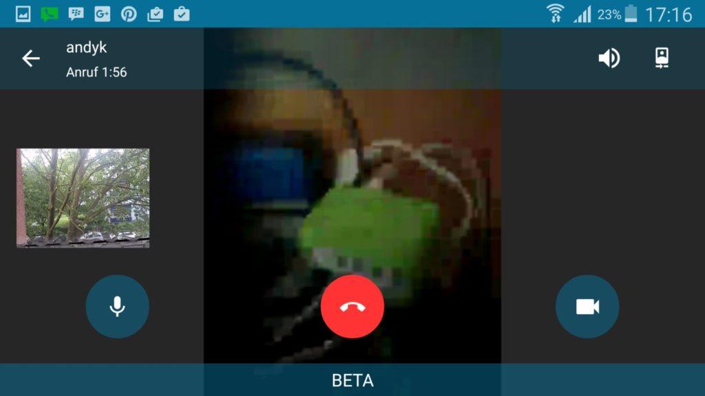 BBM Messenger | Screenshot Redaktion